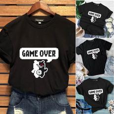 roundneckshirt, Fashion, short sleeves, casual shirt