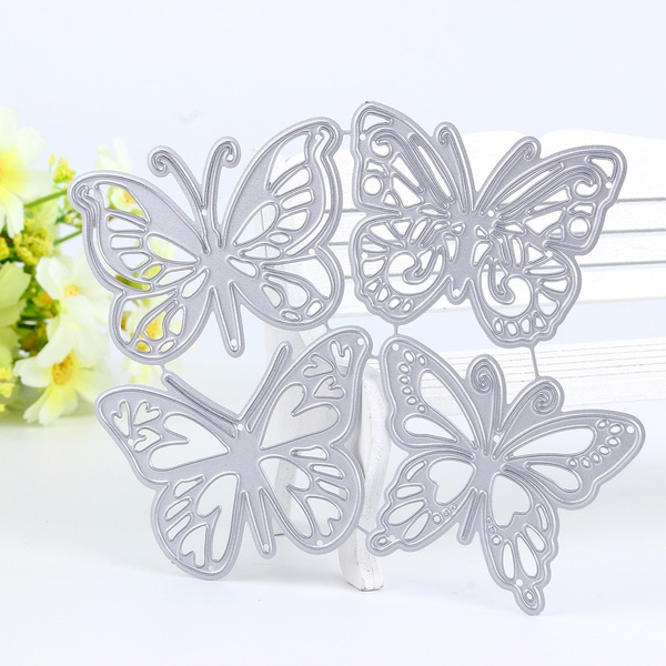 Butterfly Metal Cutting Dies DIY Craft Photo Album Paper Card Embossing Die Cuts