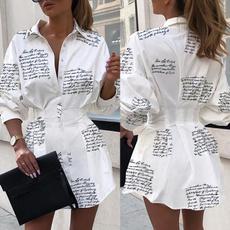 Summer, Fashion, Shirt, letter print