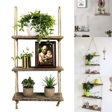 Plants, Home Decor, Shelf, flowerpotshelf