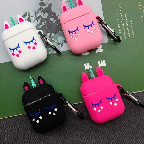 3D Unicorn AirPods Case Cute Earphone