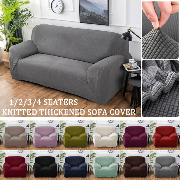 Stupendous 1 4 Seaters Sofa Slipcover Fashion Recliner Sofa Covers Loveseat Slipcover Retro Recliner Sofa Cover Soft Couch Slipcovers 14 Colors Theyellowbook Wood Chair Design Ideas Theyellowbookinfo