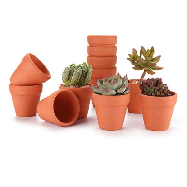 225 & 12Pcs Small Mini Clay Pots 2\u0027\u0027 Terracotta Pot Clay Ceramic Pottery Planter Cactus Flower Pots Succulent Nursery Pots- Great PlantsCraftsWedding ...
