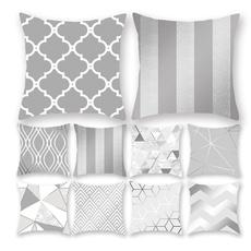 Home Decor, squarepillow, Pillowcases, Cushion Cover