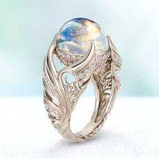 Sterling, DIAMOND, 925 sterling silver, wedding ring