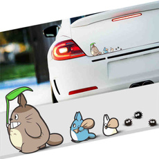 My neighbor totoro, Decor, hizaomiyazaki, animecardecal