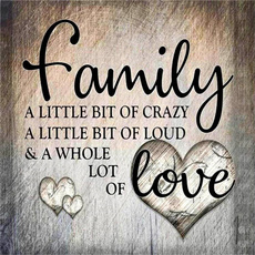 familyloveletter, DIAMOND, Love, Home Decor