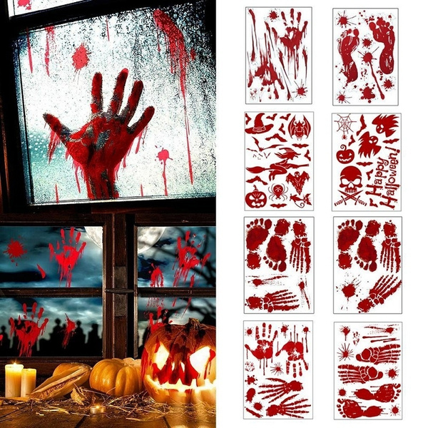 halloweensticker, bleeding, partydecor, Horror