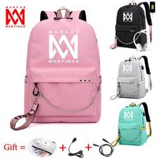 Beautiful, School, usb, Backpacks