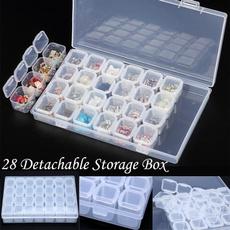 Box, DIAMOND, Jewelry, plastic case