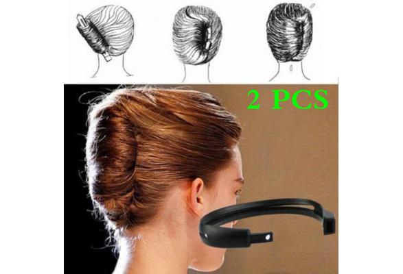 Women Twist Hair Bun Maker Donut Styling Braid Holder Accessory Tool Perfect