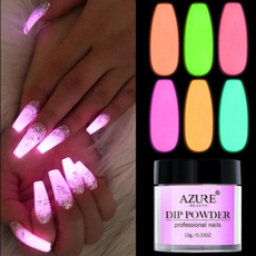 Nails, glowdippowder, Beauty, nail manicure