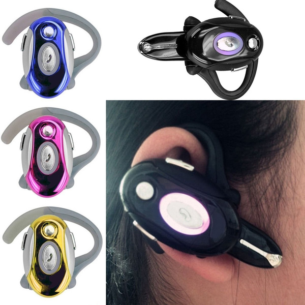 Wireless Bluetooth Business Headphone Handsfree Headset Ear Phone For Cell Phone Wish