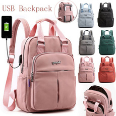 Laptop Backpack, School, Fashion, Capacity