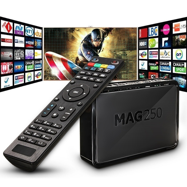 Professional MAG250 Home TV Box Top 256MB Europe Arabic 1300+Live TV Box C8