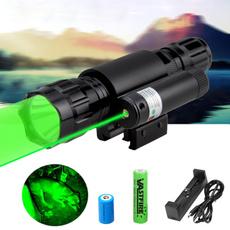 Flashlight, Waterproof, Battery, Tactical