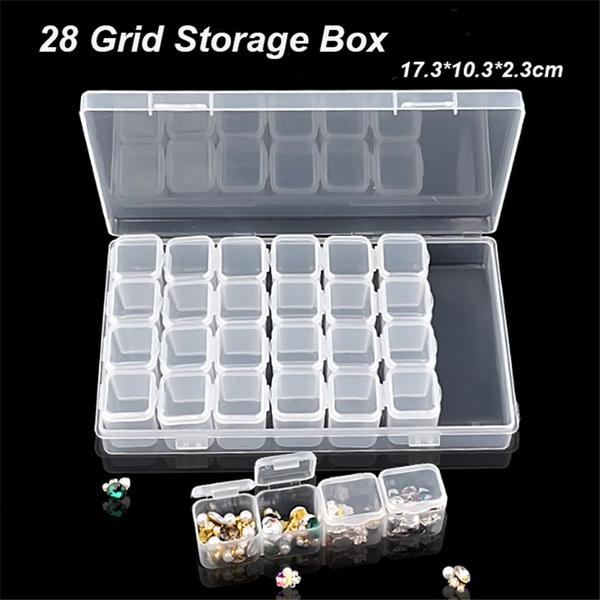 Storage Box, art nail, DIAMOND, art