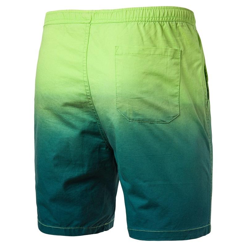 New Men's Loose Casual Pants Straight Pants Summer Refreshing Five Pants Men's Beach Pants