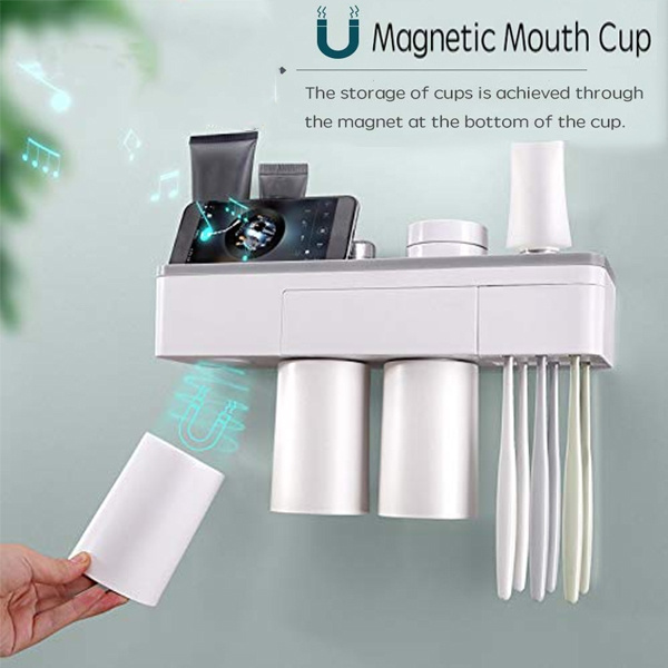 Toothbrush Holder Magnetic Adsorption
