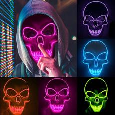 scary, glowingmask, Toy, Cosplay