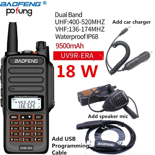 New  BaoFeng Car Radio Charger Cable Two Way Radio Walkie Talkie Adapter Cable