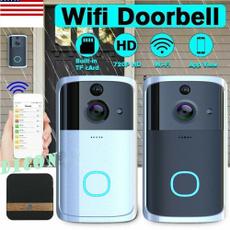 Bell, doorbell, Door, ringdoorbell
