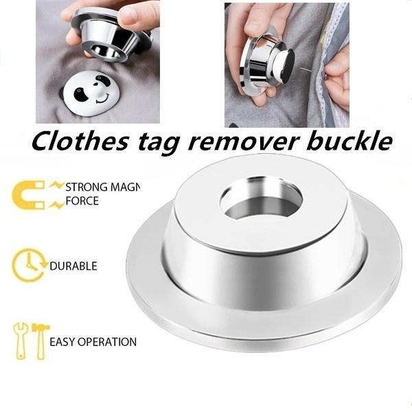 Strong Tag Remover Garment Magnetic Alarm Clothing Anti-Theft Buckle Unlocker