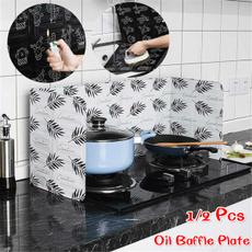 oilbaffleplate, Kitchen & Dining, oilsplatterscreen, cookingoilsplatter