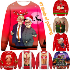Funny, Fashion, Funny Sweater, printed