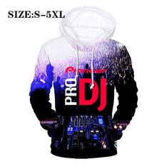 Hip Hop, 3D hoodies, Dj, pioneer