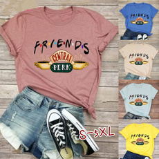Summer, summer t-shirts, Cotton T Shirt, letter print