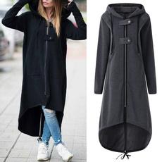 Hoodies, hooded, Winter, sweater coat