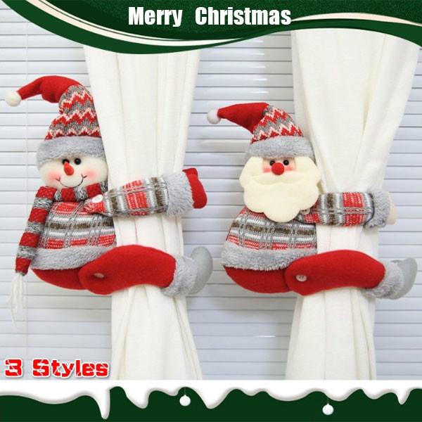 curtaindecorative, Christmas, doll, christmasdoll