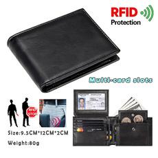 men's leather wallet, shortwallet, Shorts, front pocket wallet