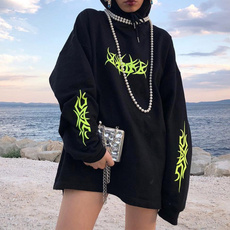 Goth, gothichooded, Tops, Neon