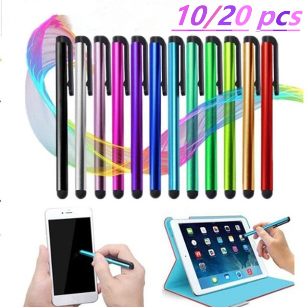 10Pcs Universal Capacitive Touch Screen Stylus Pen For All Phone Pad PC Tablet