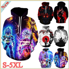 casual coat, 3D hoodies, Fashion, Winter