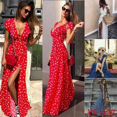 wavepointdre, Fashion, long dress, Beach