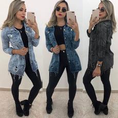 jeanjacket, Fashion, Outerwear, Coat