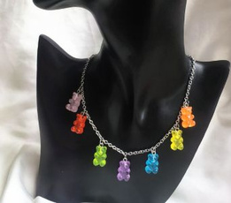 cute, Fashion, Jewelry, Chain