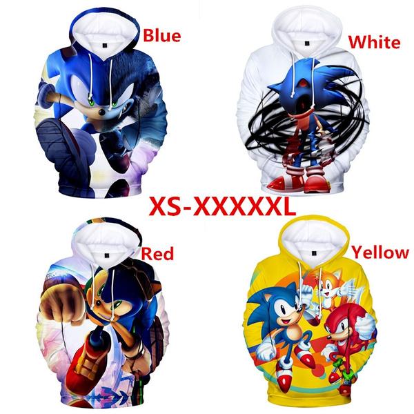 New Arrived Sonic The Hedgehog 3d Print Hoodies Sweatshirt Hoodie Men Women Unisex Sweatshirt Top Pullover Winter Plus Size Wish