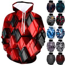 Couple Hoodies, Funny, Sleeve, 3D hoodies