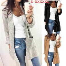 Women Sweater, Coat, pullover women, Sleeve