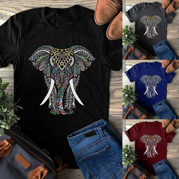 Plus Size, short sleeves, T Shirts, pulloverblouse