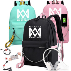 cute, Escuela, usb, rucksack