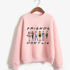 Long Sleeve, Tops, Loose, Pullovers