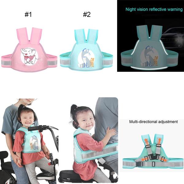 Kids Children/'s Motorcycle Safety Belt Adjustable Electric Vehicle Safe Strap
