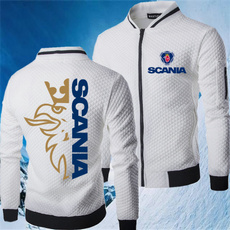 Stand Collar, Fleece, Fashion, Winter
