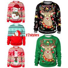 santaclaustracksuit, Funny, christmashoodie, Christmas
