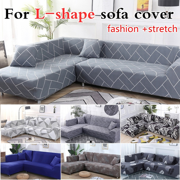 Slipcovers Home & Living Sofa Cover L-Shape Recliner Protector Cover Set  Couch Cover Sofa Towel for Living Room Sofa Cover L Shape Armchair Cover